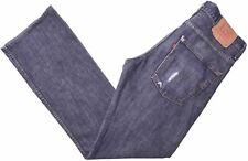 LEVI'S Mens 507 Jeans W32 L34 Blue Cotton Bootcut  NL03
