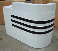1X Reception Desk Front Counter 1.2Meter LeftsideCorner