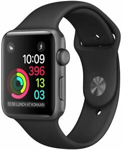 Apple Watch Series 2 42mm Aluminum Case - Space Gray, Silver, Gold. Sport Band