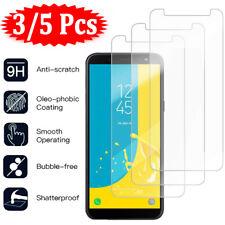 5X Tempered Glass Screen Protector For Samsung Galaxy J3 J5 J7 Pro J4 J6 J8 Plus