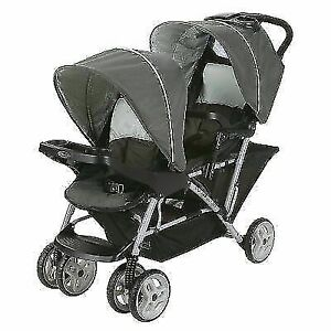 Graco Double Stroller Baby  Lightweight Babysit Children Infant Seat Duo NEW