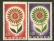 TIMBRE 1430-1431 NEUF XX - FLEUR - EUROPA 1964