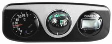 Digital Clock/Compass/Thermometer for Car-Truck-Bike-Scooter Interior Dash