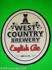 BEER PUMP CLIP - WEST COUNTRY ENGLISH ALE
