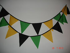 JAMAICAN 40ft FABRIC BUNTING ( MINI FLAGS)