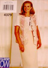 NEW(FF)+VINTAGE 1996 'BUTTERICK' SEPARATES SEWING PATTERN 4379 SIZE 12-16