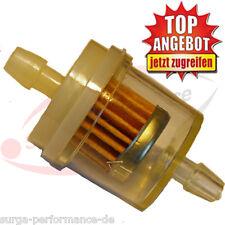 10x Kraftstoff Leitungsfilter Feinstfilter 6/8 mm Benzinfilter Dieselfilter