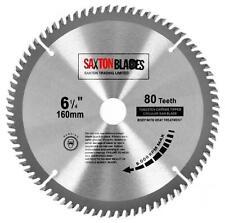 Saxton TCT Circular Wood saw blade 160mm x 20mm x 80T Festool TS55 Makita Bosch