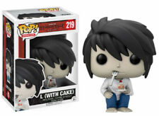 Death Note L with Cake Exclusive Funko Pop! Animation Vinyl Figure #219
