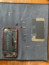 Apple iPhone 8 Plus 100% Genuine Back Housing Mid Frame OEM Red AS-IS For Parts