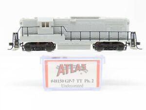 N Scale Atlas 48150 Undecorated EMD GP7 TT Phase 2 Diesel Locomotive No#