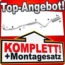 Auspuff VW POLO (9N) 1.4 75/100PS +Rohr Auspuffanlage F97C