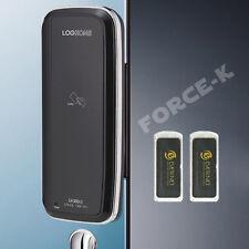 Keyless Lock for Glass Door LH300GC-S Clip Type Digital Doorlocks Passcode+RFID