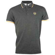 New Mens Sergio Tacchini Polo T-Shirt Top Retro Vintage Golf top Branded Classic