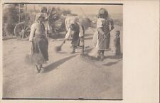 B77981  fiel work country women folklroe  macedonie  scan front/back image