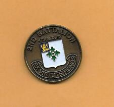 """2nd Battalion 47th Infantry - Never Quit - Challenge COIN 1 1/2"""" .6 OZ"""