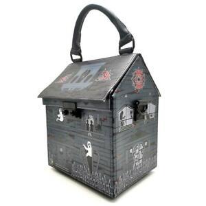 Kreepsville 666 Haunted House Spooky Horror Gothic Punk Handbag Purse BGHHP