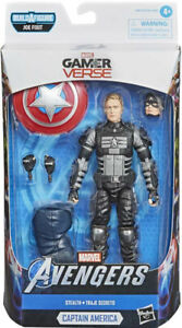 Marvel Legends Joe Fixit BAF Series - Stealth Captain America Action Figure