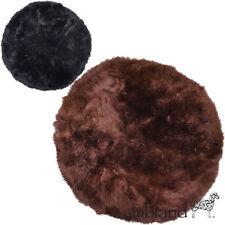Tapis noirs rondes pour la maison