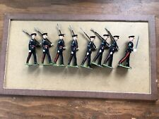 Britains # 2089 Gloucestershire Regiment 7 soldiers and officer