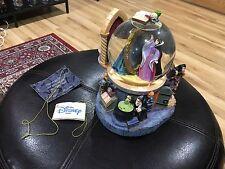 "Disney Store Snow White Seven Dwarves Wicked Queen 8"" Water Globe"