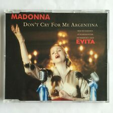 Madonna DON'T CRY FOR ME ARGENTINA Maxi CD (Germany, 1996)