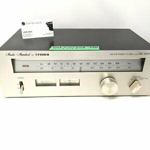 Studio Standard By Fisher Model AM / FM 2020 Tuner