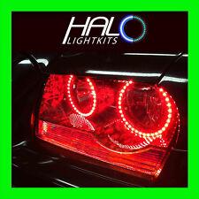 2005-2010 CHRYSLER 300C RED LED LIGHT HEADLIGHT HALO KIT (4 RINGS) by ORACLE