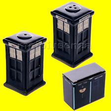 Set sale e pepe ceramica Cabina della Polizia inglese x gli amanti del Dottore