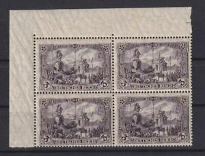 DR 96 AI b Germania Querformat 3 Mark postfrisch Viererblock FA Jäschke (kt374)