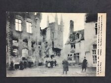 Vintage PC: Military WW1: #M317: Ypres, Museum At The Conciergerie In Ruins