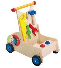 Lauflernwagen HABA 2667 Werkel Zwerg Kinder Werkzeug Lauflernhilfe Schiebewagen