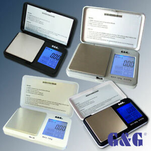 G&G TS 100g-200g-300g-500g/0.01g-1000g Feinwaage Taschenwaage Neuwertig