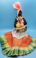 "Jamaican Handcrafted Doll 20"" Tall"