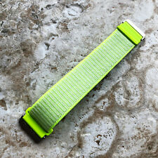 Flash Light Sports Hook and Loop Adjustable Nylon Band Strap for Fitbit Versa