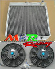for 1969 1970 FORD MUSTANG/-77 MAVERICK 4.1L/5.0L l6/V8 aluminum radiator & fan