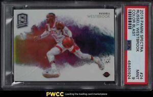 2019 Panini Spectra Color Blast Russell Westbrook #24 PSA 9 MINT