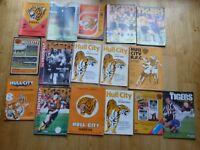 Hull City football club home match programmes x 16