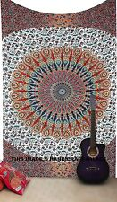 Indian Tapestry Decor Mandala Wall Hanging Hippie Throw Bohemian Twin BLANKET