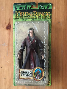Toybiz Lord of the Rings Elrond Of Rivendell action figure