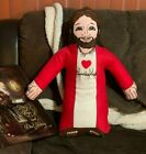 "1991 FIRST FRUITS BIBLICAL DOLLS 23"" JESUS PLUS DOLL WITH BONUS TOTE!"