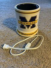 Michigan Wolverines - Large Jar Candle Warmer - Electric