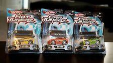 Hot Wheelz Car Tunerz Set of 3 - 1997 Toyota Supras