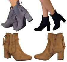 Botas de mujer botines textiles sin marca