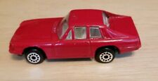 Vintage red shiny unknown make Model Diecast toy car Vehicle Collectible Rare