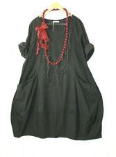 Moonshine Tunika Kleid Ballonkleid  50 52 54 Lagenlook Schwarz Gr 3