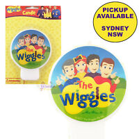 THE WIGGLES PARTY SUPPLIES MOLDED BIRTHDAY CANDLE CAKE TOPPER DECORATIONS