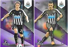 Topps Premier League Newcastle United Football Trading Cards