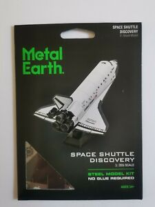 Metal Earth Space Shuttle in colour model kit