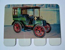 Ancienne plaque métal collection Coop Panhard et Levassor 1898 Tacots Automobile